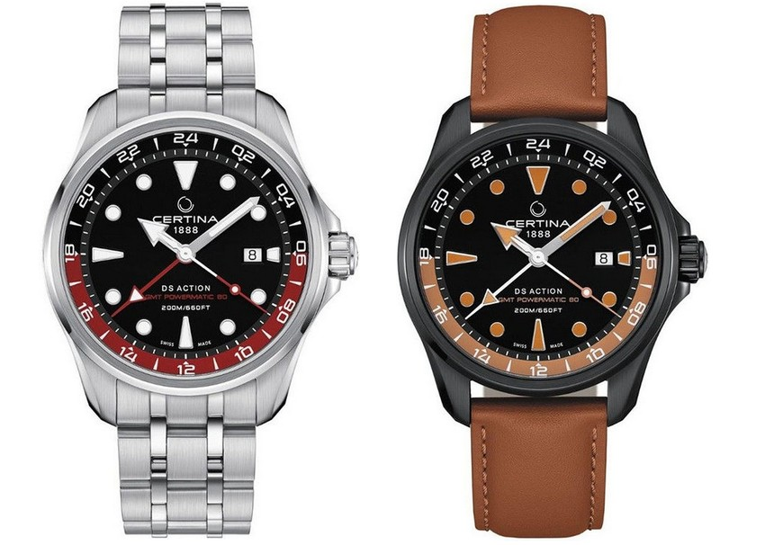 Certina DS Action Automatic Powermatic 80 GMT
