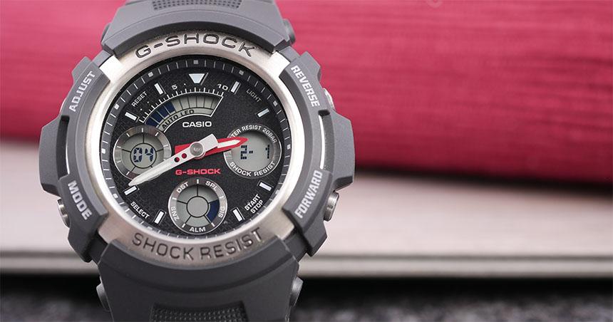 3db19d01d AW-590 AW-591 levné digitálně-analogové G-Shocky na menší zápěstí ...