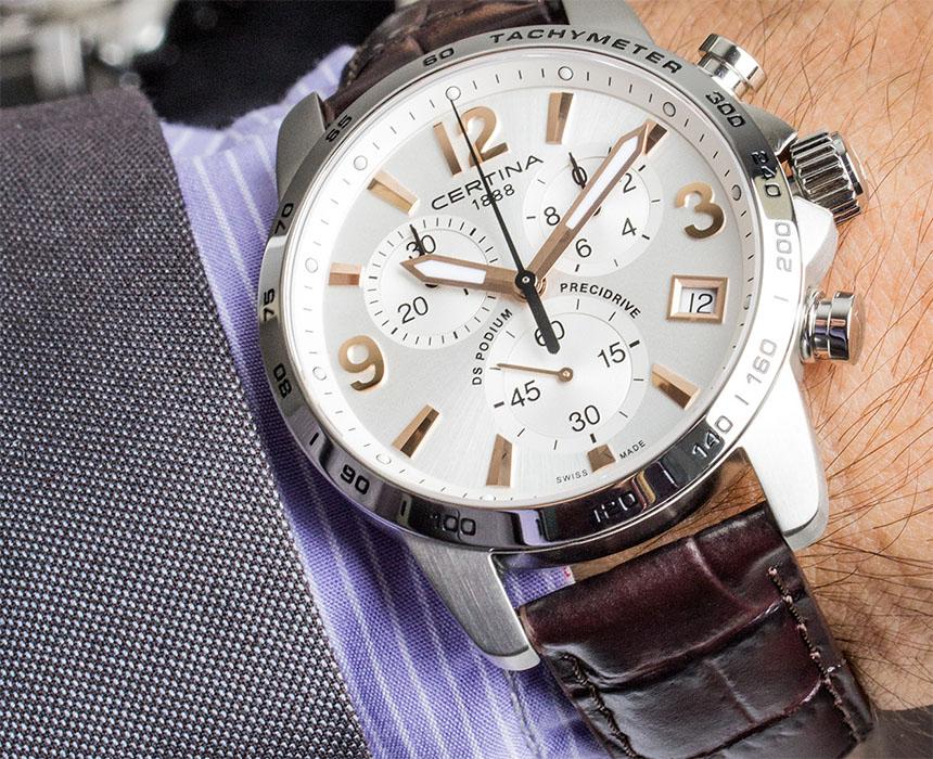 Certina DS Podium Chronograph 1 10 SEC. Chronografy jsou sportovní hodinky 20876d03d0