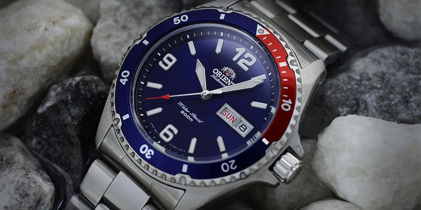 Jedny z nej potápěčských hodinek: Orient Ray a Orient Mako
