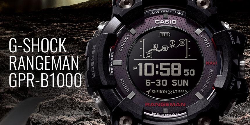 Casio G-Shock Rangeman GPR-B1000 GPS Navi 6e1a76215f