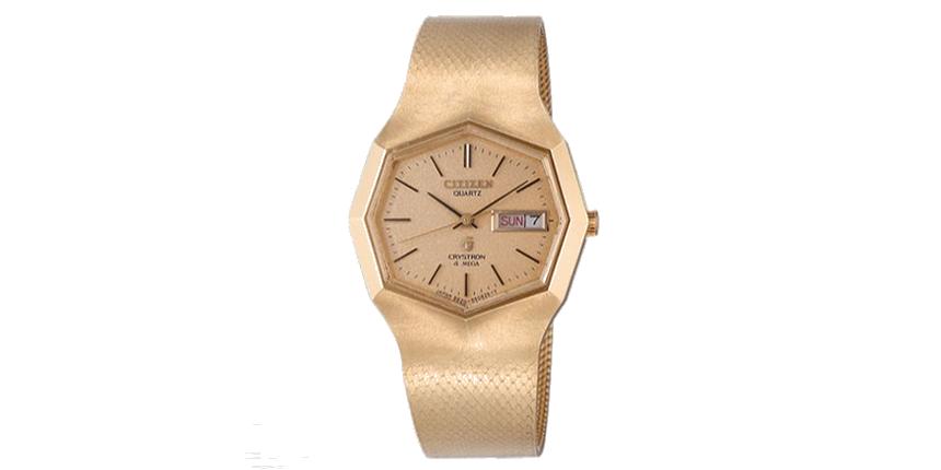 ac2c1fa1e Nejpřesnější hodinky na světě v roce 1975 Cryston Mega