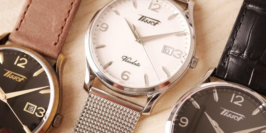 Legendární pánské společenské hodinky Tissot Visodate 2b8fbd59e6