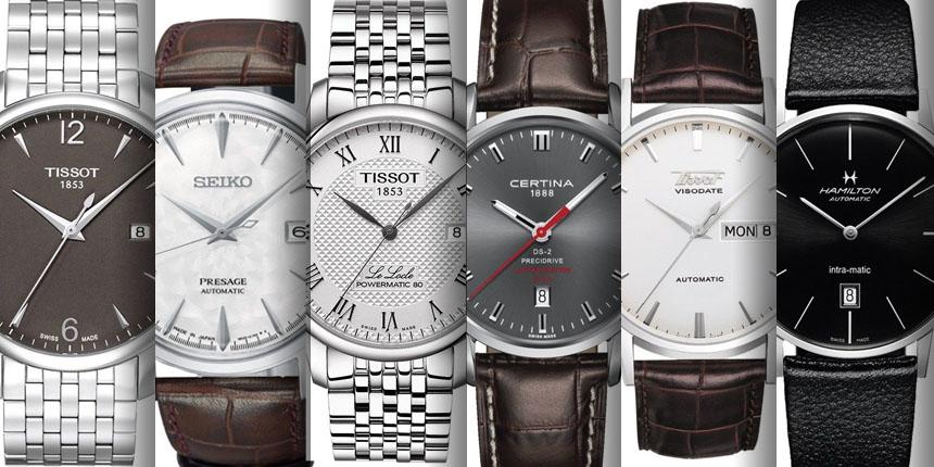6 pánských společenských hodinek vhodných jako dárek k promoci (do ... 3f322348ac0