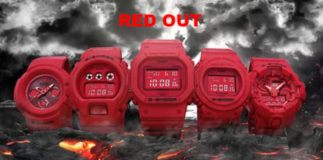 "G-Shock ""Red Out"""