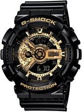 Casio G-Shock Original GA-110GB-1AER Black & Gold Special Edition