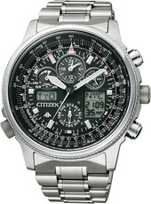 Citizen Pilot Global Radiocontrolled JY8020-52E