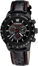 Wenger Roadster Black Night Quartz Chronograph 01.0853.108