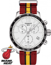 Tissot Quickster NBA Miami Heat Special Collection T095.417.17.037.08