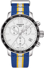 Tissot Quickster NBA Golden State Warriors Special Collection T095.417.17.037.15
