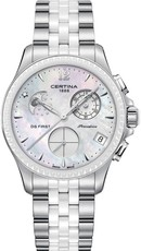 Certina DS First Lady Chronograph Moon Phase C030.250.11.106.00. Dámské  hodinky ... 88ee742ba9