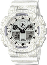 Casio G-Shock G-Classic GA-100CG-7AER Cracked Pattern Special Edition