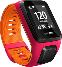 TomTom Runner 3 Cardio Pink/Orange (S)