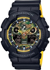 Casio G-Shock Original GA-100BY-1AER Special Edition Yellow Orange Accent