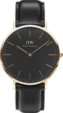 Daniel Wellington Classic Black Sheffield Gold DW00100127