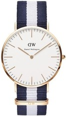 Daniel Wellington Classic Glasgow Gold DW00100031