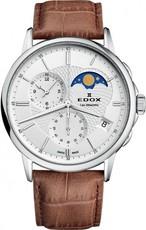 Edox Les Bémonts Chronograph Moon Phase 01651 3 AIN. Hodinky ... 3daa47083a0