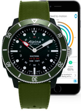 Alpina Seastrong Horological Smartwatch Quartz AL-282LBGR4V6