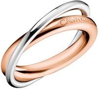 Dámský prsten z chirurgické oceli Calvin Klein Double KJ8XPR2001 e917fdda282