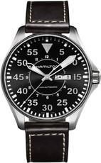 c1c930a7576 Hamilton Khaki Pilot Day Date Auto H64715535