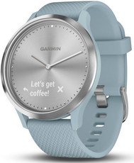 Garmin vívomove Optic Sport Silver, Seafoam band (velikost S/M)