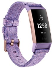 Fitbit Charge 3 Special Edition (NFC) - Lavender Woven FB410RGLV-EU