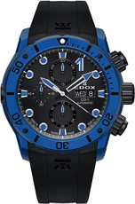 Edox CO-1 Carbon Chronograph Automatic 01125-clnbunnin