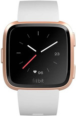 Fitbit Versa - White Band / Rose Gold Case FB505RGWT-EU