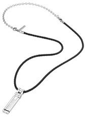 Pánský náhrdelník z kůže a oceli Police Thionville PJ26276PLS 01 + rok na  vrácení zboží 5d3adc164eb