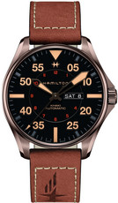 Hamilton Khaki Aviation Pilot Day Date Automatic H64705531