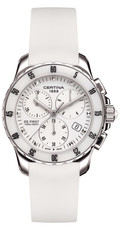 Certina DS First Lady Ceramic Chronograph C014.217.17.011.00
