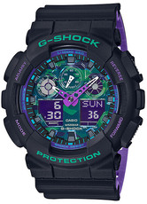 Casio G-Shock Original GA-100BL-1AER 90s Color Blue and Purple Accent Series