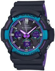 Casio G-Shock Original GAW-100BL-1AER 90s Color Blue and Purple Accent Series