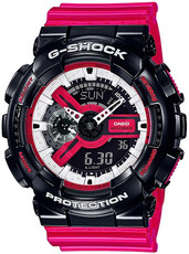 Casio G-Shock Original GA-110RB-1AER Red, Black, and White Series