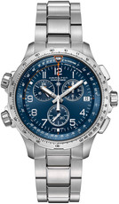 Hamilton Khaki Aviation Pilot X-Wind Quartz Chronograph GMT H77922141