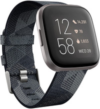Fitbit Versa 2 Special Edition (NFC) - Smoke Woven FB507GYGY