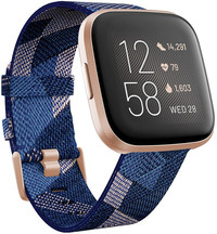 Fitbit Versa 2 Special Edition (NFC) - Navy & Pink Woven FB507RGNV (rozbalené)