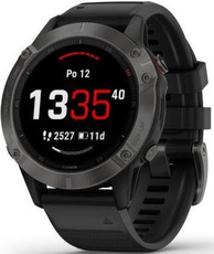 Garmin Fenix 6 PRO Sapphire, Gray/Black Band (MAP/Music)