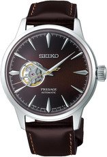 "Seiko Presage Automatic Open Heart SSA407J1 Cocktail Time ""Stinger"""