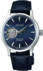 "Seiko Presage Automatic Open Heart SSA785J1 Cocktail Time ""Blue Moon"""