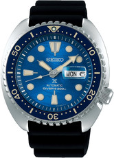 "Seiko Prospex Sea Automatic Diver's SRPE07K1 Save the Ocean Great White Shark Special Edition ""King Turtle"""