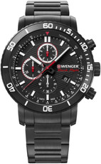 Wenger Roadster Black Night Quartz Chronograph 01.1843.110
