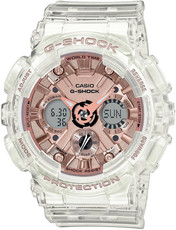 Casio G-Shock Original GMA-S120SR-7AER S Series Transparent x Pink Gold Collection