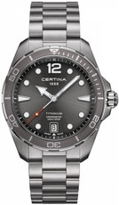 Certina DS Action Gent Quartz COSC Chronometer Titanium C032.451.44.087.00
