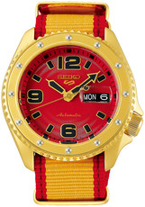 "Seiko 5 Sports Automatic SRPF24K1 Street Fighter Limited Edition 9999pcs ""Zangief"""