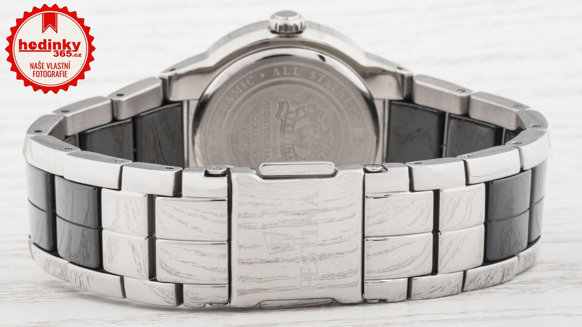 74a7bb516d4 Dámské hodinky - keramický řemínek