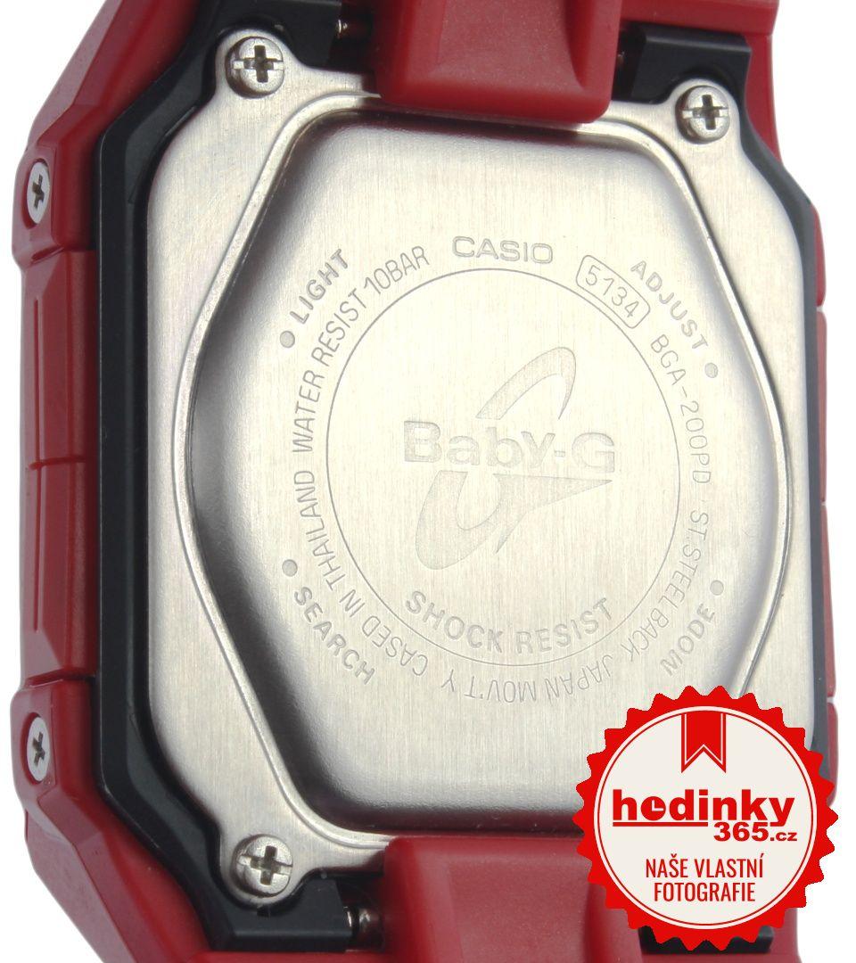 Casio Baby-G BGA-200PD-4BER. Hodnocení  5 1a45b05f142