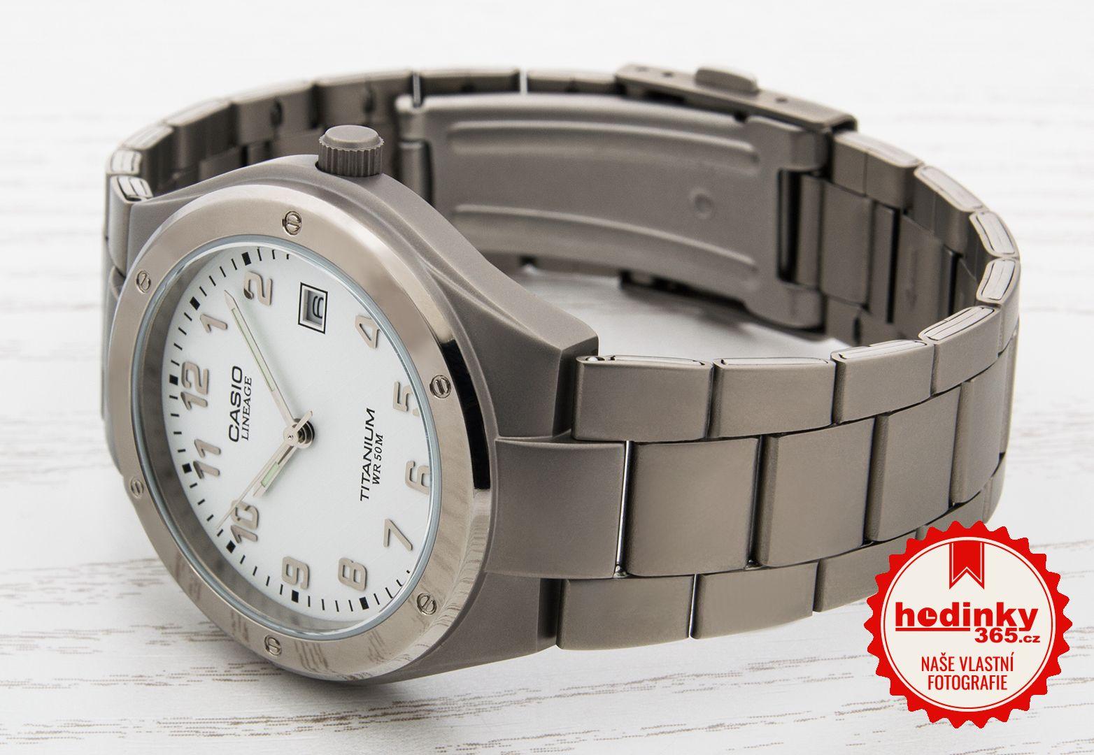 Pánské hodinky - titanový řemínek c32cfd6f6dc