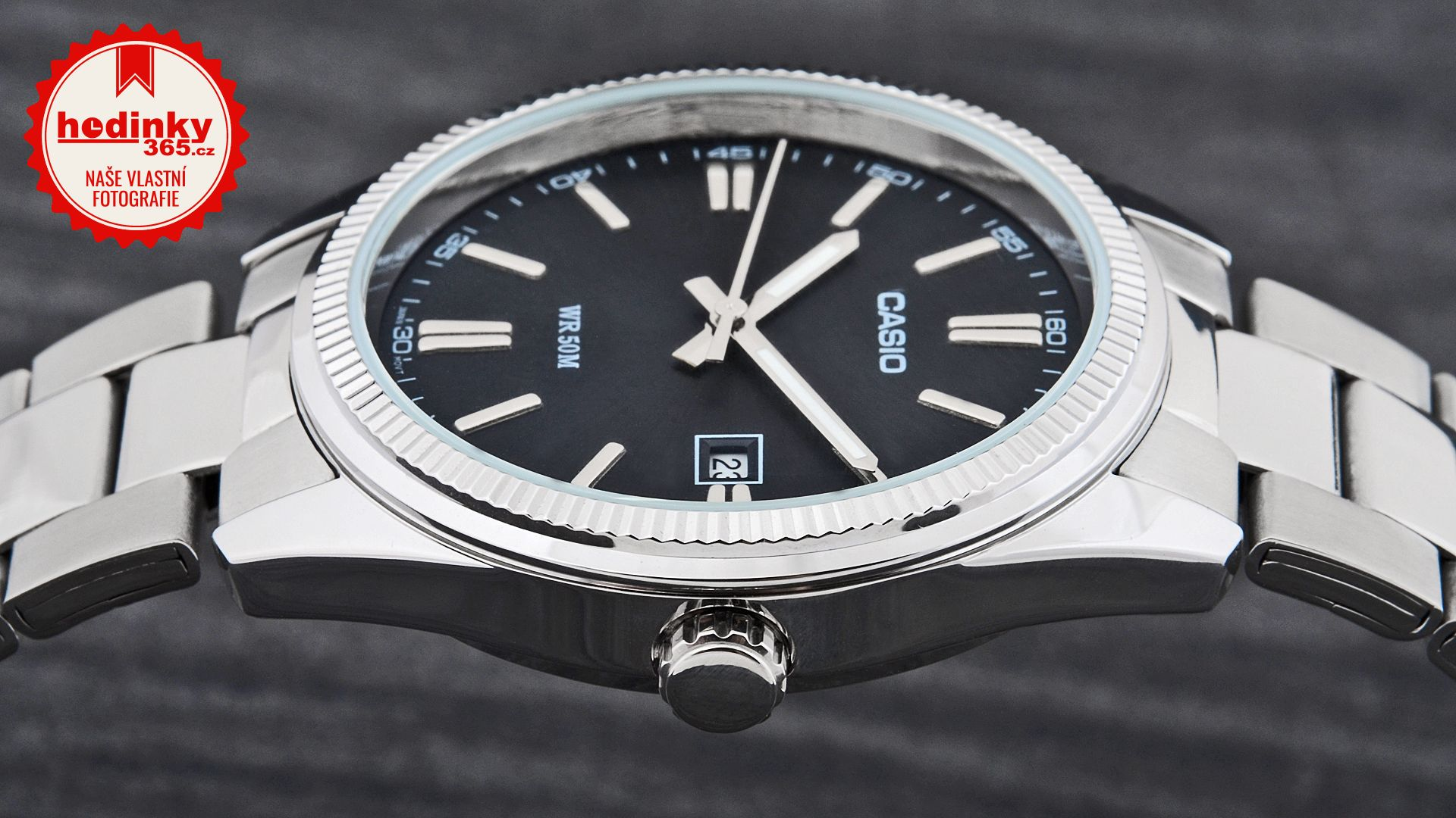 Casio Collection MTP-1302PD-1A1VEF. Pánské hodinky - ocelový řemínek 8bf3903c9c2