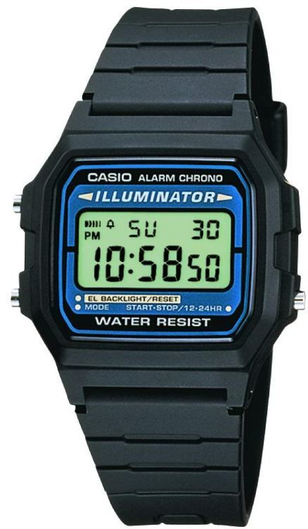 3aa8b5d02b3 Casio Collection Retro F-105W-1AWYEF